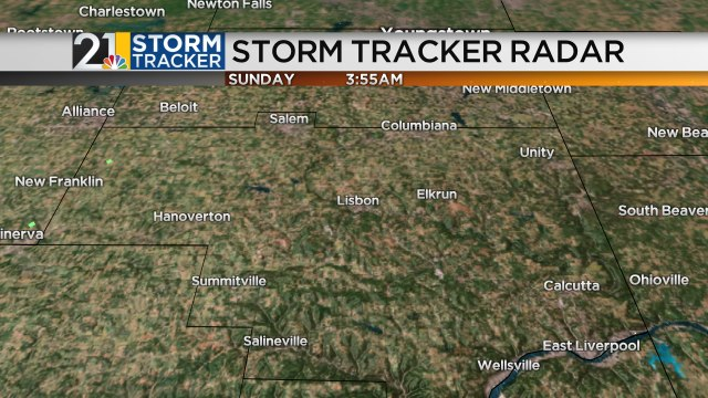 Columbiana County Radar